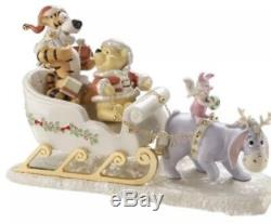 Lenox Winnie L'ourson Un Sleigh Ride Ensemble Avec Pooh Nouveau