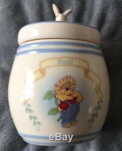 Lenox-winnie The Pooh Spice Jar Set 24 Pots (2 Pots Ont Été Perdus Dans Une Aile)