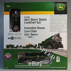 Lionel John Deere Set Ensemble Train De Commande À Distance Lionchief