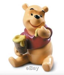 Lladro Disney 9115 Winnie The Pooh 01009115 Nouveau Dans La Boîte