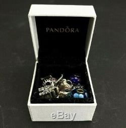 Lot De Charmes Authentiques Pandora Disney Avec Une Retraite Winnie L'ourson 19 Quantité