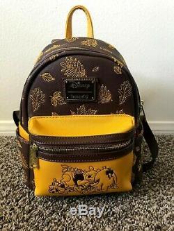 Loungefly Disney Winnie L'ourson Automne Mini Sac À Dos Exclusif Boxlunch
