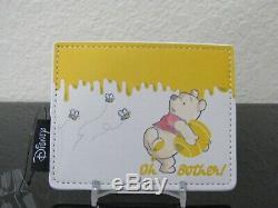 Loungefly Disney Winnie L'ourson Bees & Honey Mini Sac À Dos Avec Support Carte Nwt
