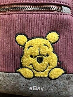 Loungefly Disney Winnie L'ourson Corduroy Mini Sac À Dos Des Tn-o