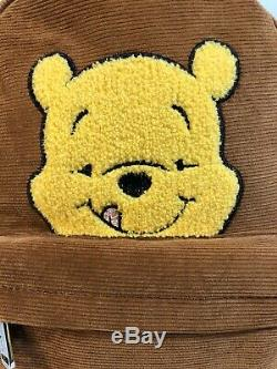 Loungefly Disney Winnie L'ourson Corduroy Mini Sac À Dos Rare Tn-o