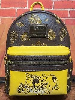 Loungefly Disney Winnie L'ourson Mini Sac À Dos Des Tn-o