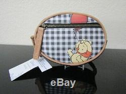 Loungefly Disney Winnie L'ourson Plaid Mini Sac À Dos Set Neuf Avec Des Étiquettes