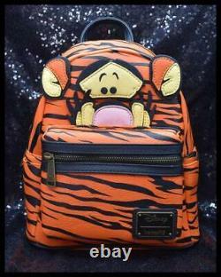 Loungefly Disney Winnie L'ourson Tigger Mini Sac À Dos Nwt Cosplay