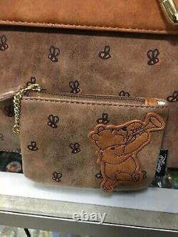Loungefly Disney Winnie The Pooh Satchel Bag & Coin Pursenew Avec Tags