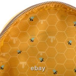 Loungefly X Disney Winnie L'ourson En Feutre Honey Tummy Sac À Dos Commander Confirmée