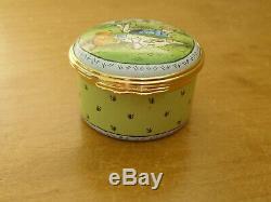 Ltd Ed Halcyon Days Winnie L'ourson Un Pique-nique Est Une Très Grande Chose Émail Box