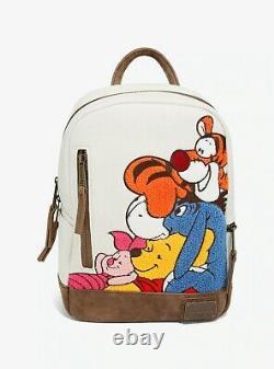 Lunofly Disney Winnie Le Pooh Chenille Mini Sac À Dos