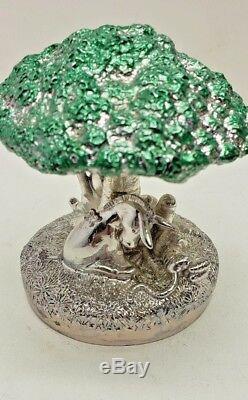 Lunt Classic Silver Winnie L'ourson En Argent Musicale Bourriquet Porcinet Tigrou Pooh
