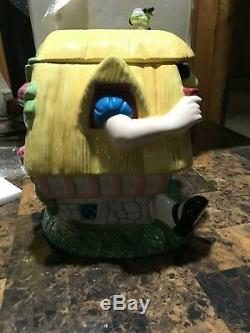 Maison De Disney Alice Au Pays Des Merveilles Cookie Jar Lapin Blanc Merveilleux