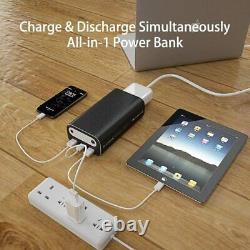 Maxoak 50000mah / 185wh 99wh / 26756mah Chargeur Portable Portable Usb Externe Batterie