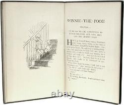 Milne, A. A. Winnie The Pooh First Edition 1926 Tissu Original