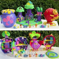 Mini Polly Pocket Winnie L'ourson Arce Bois Ballon Playset Hunny Pot Honigtopf