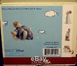 Nao Par Lladro # 1594 Rêves Avec Bourriquet Marque Nib Disney Winnie L'ourson Save $ Fs