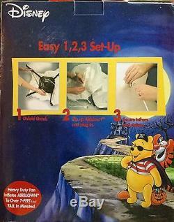Nib 2003 Gemmy 7 'disney Winnie L'ourson Halloween Airblown Gonflable