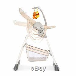 Nouveau Chaise Haute Pour Bébé Zoomy De Hauck Disney Avec Winnie L'ourson, Câlins