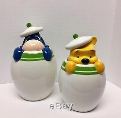 Nouveau Disney Winnie L'ourson Peek-a-boo Canister Set De 4 Bourriquet Tigrou Porcinet