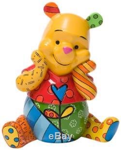 Nouveau Figurine Disney Officielle Winnie L'ourson À Collectionner Britto Livraison Gratuite