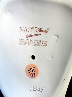 Nouveau Nao By Lladro Cuddles With Porcinet Marque Nib # 1587 Winnie L'ourson Disney F / S