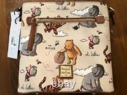 Nouveaux Parcs Disney 2020 Winnie The Pooh Crossbody Bag Dooney & Bourke New In Hand