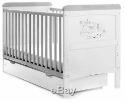 Obaby 2 Piece Ourson Winnie Maternelle Chambre Set Lit Lit Changeur Rêves Wishes Bn