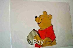 Originale Winnie-the Pooh Cels De Neuf Caractères En Parfait État