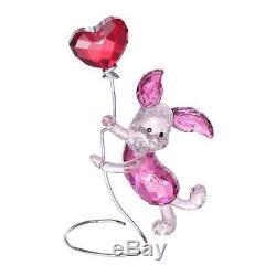 Porcelet De Cristal De Swarovski De Winnie L'ourson Disney Figurine 1142890 Brand New