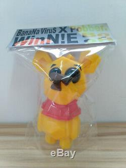Poupée Banana Virus Winnie L'ourson Figurine En Vinyle Souple Sofubi