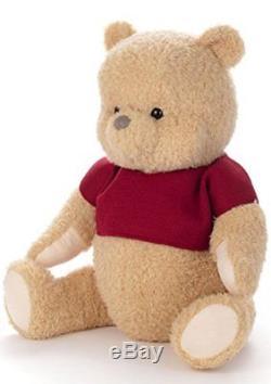Poupée En Peluche Taille Réelle Disney Christopher Robin Winnie L'ourson Japon