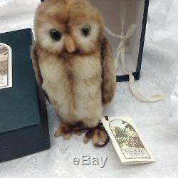 Poupée Winnie L'ourson R. John Wright Pocket Owl Boîte D'origine # 1667/3500 Limitée