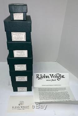 Poupées R. John Wright Ensemble Complet De Poche Winnie The Pooh Collection New Coas
