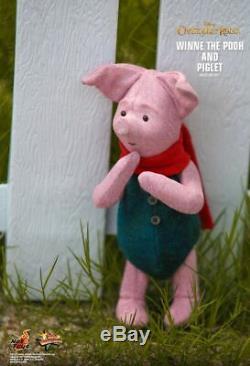 Prêt Hot Toys Christopher Robin Winnie L'ourson Et Porcinet Mms503 1/6 Nouveau Misb