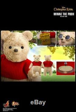 Prêt Hot Toys Christopher Robin Winnie L'ourson Mms502 1/6 Nouveau Misb Dernière