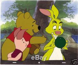 Production Originale De Disney Cel Winnie L'ourson