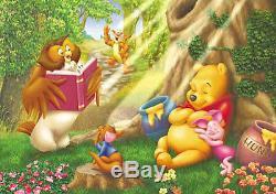 Puzzle Japonais Tenyo Disney Winnie L'ourson Porcinet Hunny Friends D-300-294
