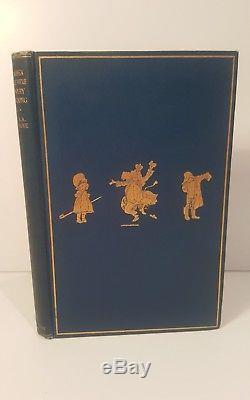 Quand Nous Étions Très Jeunes. A. A. Milne. 1924. Première Édition. Winnie L'ourson