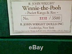 R. J. Wright Ensemble Complet De Série De Poche Winnie L'ourson