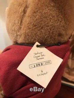 R John Wright Collection Lifesize 19 Pouces Winnie L'ourson