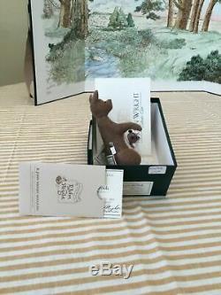 R. John Wright Complete Set Pocket Pooh Avec Toile De Fond De Lithographie