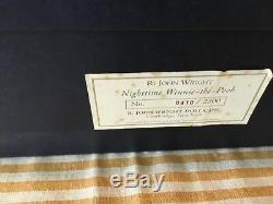 R John Wright Nocturne Winnie L'ourson Ours Nouveau Dans La Boîte-mint 410/2500