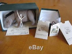 R. John Wright Pocket Eeyore Classique Winnie L'ourson Edition Limitée