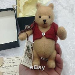R. John Wright Pocket Pooh # / 3500 Poupée Winnie L'ourson Édition Limitée