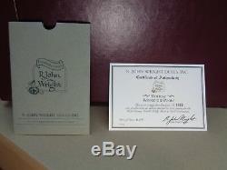 R John Wright Vacances Winnie L'ourson -1997 Wdw Convention- # 323-jamais Affichage