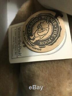 R John Wright Winnie L'ourson Disney Nib W Tags & Pot- Ours Boîte Parfaite Bit Wear