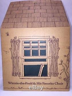 R John Wright Winnie L'ourson Et Sa Chaise Préférée Edition Limitée # 70/500