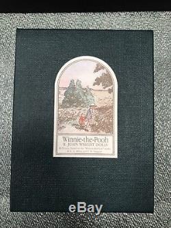 R. John Wright Winnie - L'ourson Pocket Lapin Menthe Avec Tags & Box